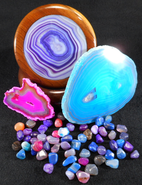Dyed Agate