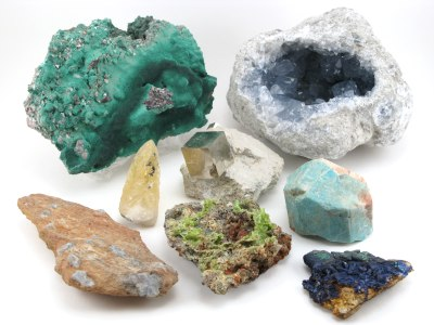 Exotic Mineral Specimens
