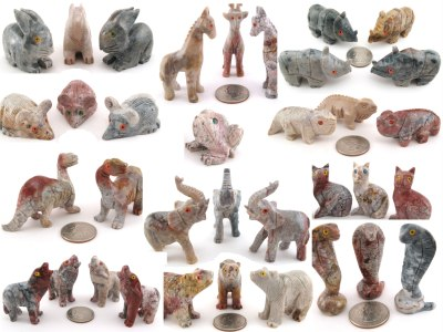 Soapstone Animals - Medium