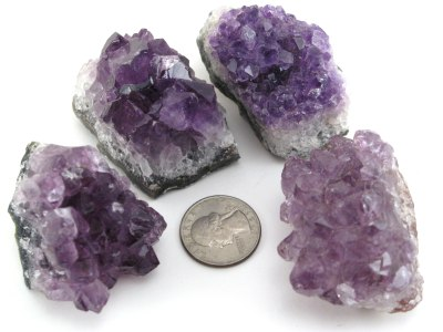 Amethyst Crystal Cer Geocenter Size 50 Pieces