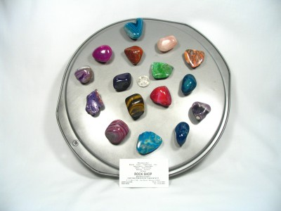 Gemstone Magnets - 50 Pieces
