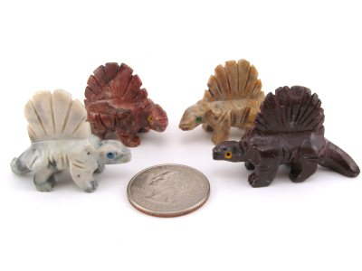 Soapstone Dimetrodon Small 5 Pieces Rock Shop