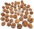 Barite 'Rose', Mixed Sizes - 50 Pieces