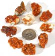 Spessartine Garnet, Natural - 10 Pieces
