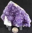 Amethyst with Calcite #10