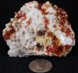 Vanadinite & Barite Specimen #9